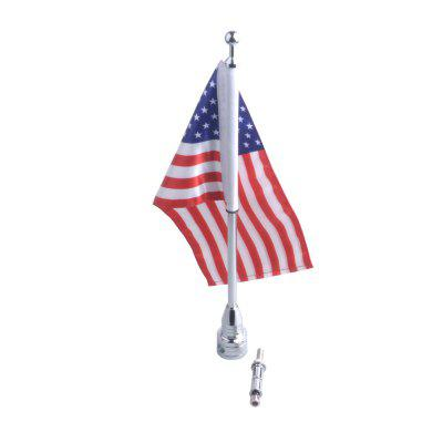 Motorcycle Fashionable Flag Pole with USA Flag for HarleyOther  Motorcycle Accessories<br>Motorcycle Fashionable Flag Pole with USA Flag for Harley<br><br>Package Contents: 1 x Flag Pole, 1 x Decorative USA Flag, 1 x Assembly Parts<br>Package size (L x W x H): 40.00 x 3.00 x 3.00 cm / 15.75 x 1.18 x 1.18 inches<br>Package weight: 0.2700 kg<br>Product size (L x W x H): 39.00 x 27.00 x 17.00 cm / 15.35 x 10.63 x 6.69 inches<br>Product weight: 0.2500 kg