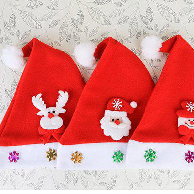 MCYH YH586 Santa Claus Hat for Christmas 3PCSChristmas Supplies<br>MCYH YH586 Santa Claus Hat for Christmas 3PCS<br><br>Brand: MYCH<br>For: Kids, Parents<br>Package Contents: 3 x Hat<br>Package Quantity: 3<br>Package size (L x W x H): 36.00 x 26.00 x 3.00 cm / 14.17 x 10.24 x 1.18 inches<br>Package weight: 0.1500 kg<br>Product size (L x W x H): 35.00 x 25.00 x 2.00 cm / 13.78 x 9.84 x 0.79 inches<br>Product weight: 0.1000 kg<br>Usage: Christmas