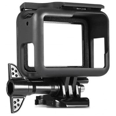 Dust-proof Lens Cap + Anti-scratch Frame for GoPro HERO5