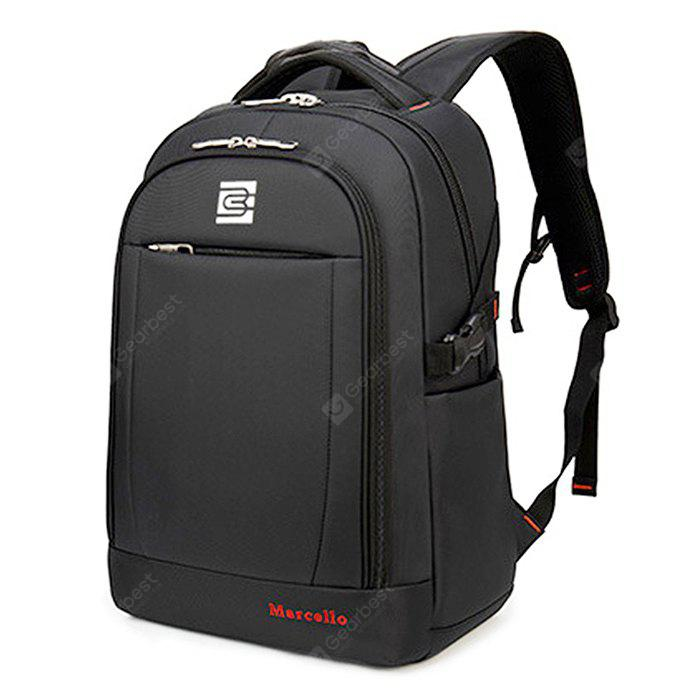 Men Multifunctional Water-resistant Nylon Laptop Backpack