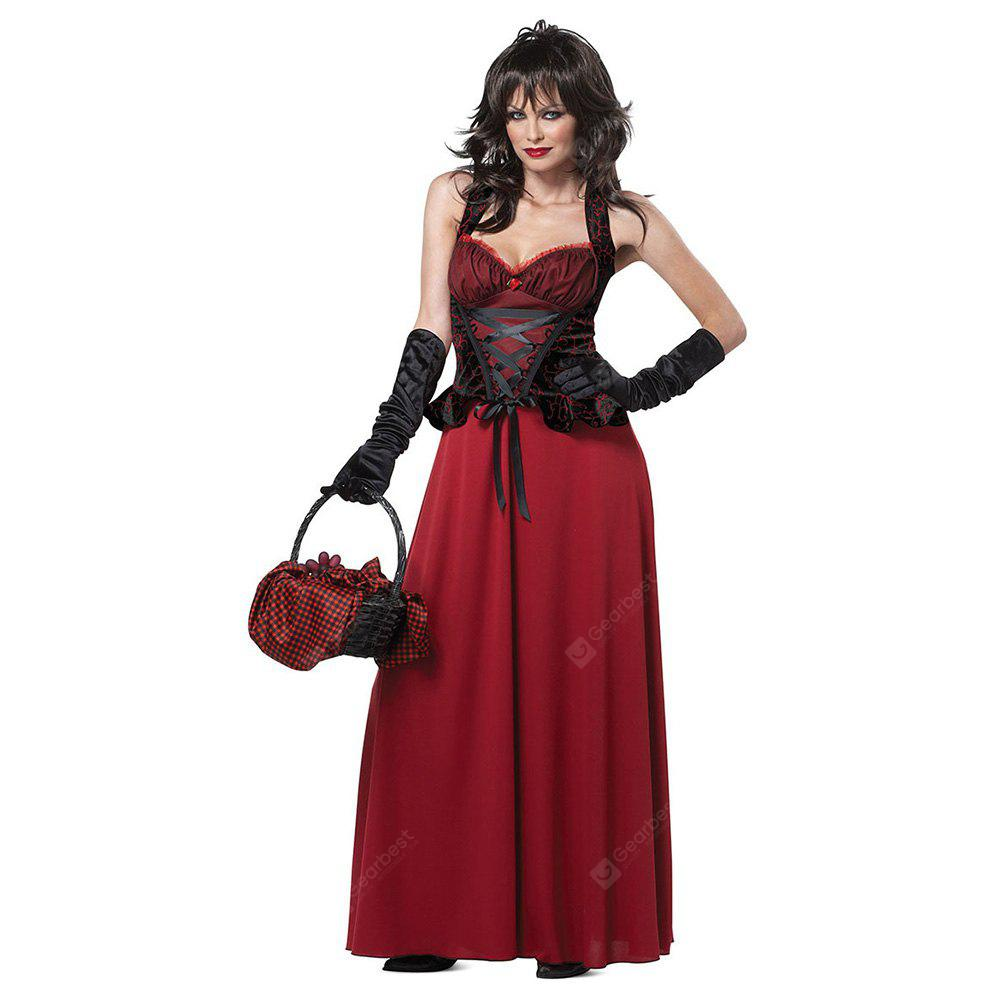Decorative Halloween Spandex Dress for Cosplay