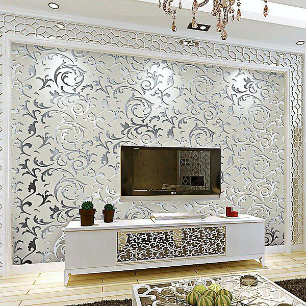 European Style Nonwoven Cloth Wallpaper for TV Background