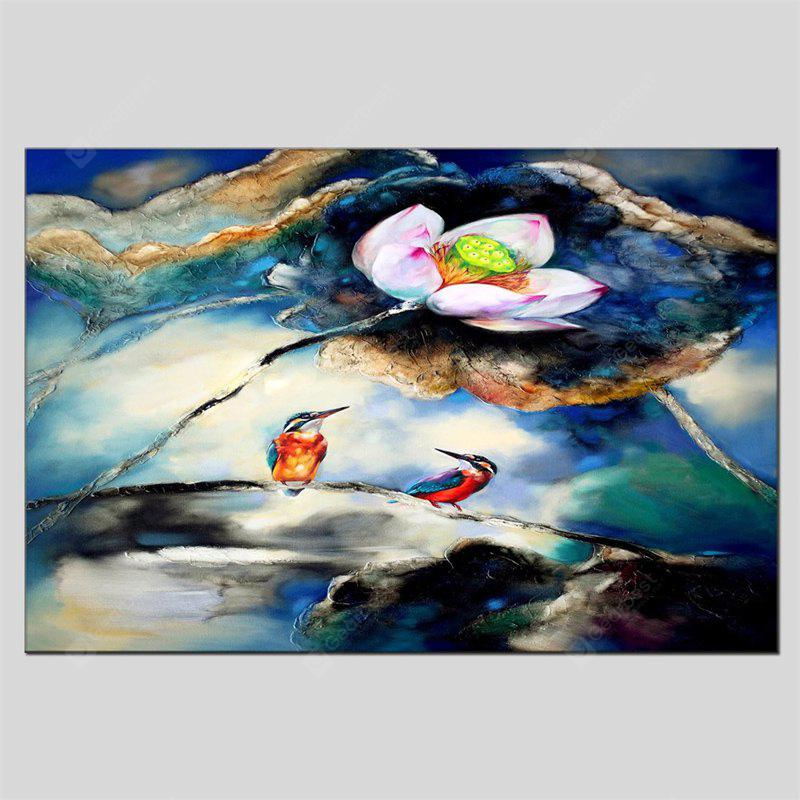 Hua Tuo Modern Hand Painted Wall Art Flower Oil Painting
