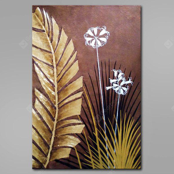 Mintura White Flower Hand Painted Oil Painting