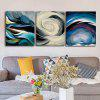 Qiaojiahuayuan Unframed Cloud Wall Shadow imprimă 3PCS - COLORMIX