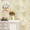 European Pastoral Style Wallpaper for TV Background - OFF-WHITE
