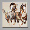 Mintura Animal Horses Hand Painted Oil Painting - COLORMIX