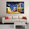 Mintura Street View Hand Painted Oil Painting - COLORMIX