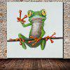 Mintura Animal Frog Hand Painted Oil Painting - COLORMIX