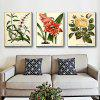 Colourful GWP - 0016 Inkjet Flowers + Plants Canvas Print 3PCS - COLORMIX