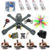 Fighter 220 220mm FPV Racing Drone DIY Kit - COLORMIX