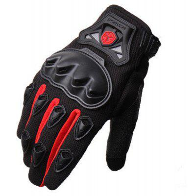 Paired Professional Motorcycle Moto Racing Off Road Gloves 225699701