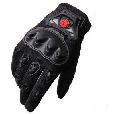 Paired Professional Motorcycle Moto Racing Off Road Gloves