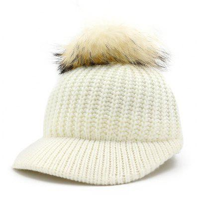 Warm Venonat Decoration Ladies Knitted Hat
