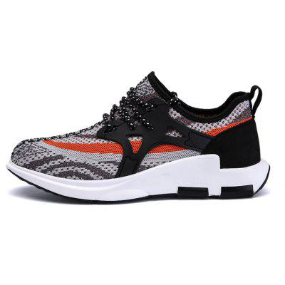 Men Lightweight Breathable Weave Tape Athletic ShoesAthletic Shoes<br>Men Lightweight Breathable Weave Tape Athletic Shoes<br><br>Contents: 1 x Pair of Shoes<br>Materials: Fabric, PU<br>Occasion: Sports, Daily, Casual<br>Outsole Material: PU<br>Package Size ( L x W x H ): 33.00 x 24.00 x 13.00 cm / 12.99 x 9.45 x 5.12 inches<br>Package Weights: 0.9300kg<br>Product Weights: 0.7800kg<br>Seasons: Autumn,Spring,Summer<br>Style: Fashion, Comfortable<br>Toe Shape: Round Toe<br>Type: Sports Shoes