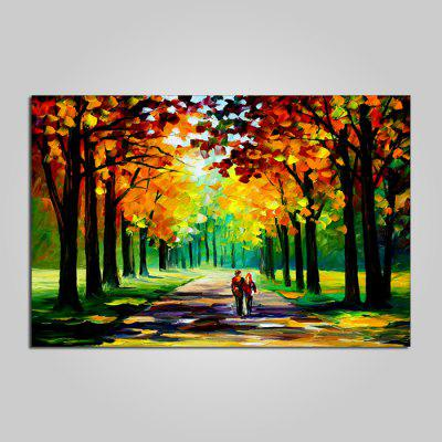 HuaTuo Colorful Grove Lovers dipinto a mano dipinto a olio