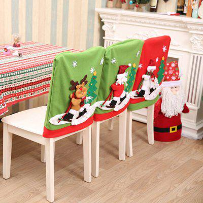 MCYH YH602 Cute Christmas Decoration Chair Cover 1PCChristmas Supplies<br>MCYH YH602 Cute Christmas Decoration Chair Cover 1PC<br><br>Brand: MCYH<br>For: Friends, Parents<br>Material: Nonwoven<br>Package Contents: 1 x Chair Cover<br>Package size (L x W x H): 28.00 x 47.00 x 3.00 cm / 11.02 x 18.5 x 1.18 inches<br>Package weight: 0.2000 kg<br>Product weight: 0.1500 kg<br>Usage: Birthday, Party, Christmas
