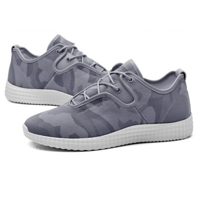 Men Breathable Camouflage Lace-up Athletic ShoesAthletic Shoes<br>Men Breathable Camouflage Lace-up Athletic Shoes<br><br>Closure Type: Lace-Up<br>Contents: 1 x Pair of Shoes<br>Materials: Microfiber, Rubber<br>Occasion: Sports<br>Outsole Material: Rubber<br>Package Size ( L x W x H ): 30.00 x 18.00 x 12.00 cm / 11.81 x 7.09 x 4.72 inches<br>Package Weights: 0.8000kg<br>Product Weights: 0.6500kg<br>Seasons: Autumn,Spring,Summer<br>Style: Comfortable<br>Toe Shape: Round Toe<br>Type: Sports Shoes<br>Upper Material: Microfiber