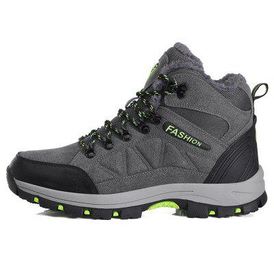 Men Comfortable Anti-skidding Durable Hiking ShoesAthletic Shoes<br>Men Comfortable Anti-skidding Durable Hiking Shoes<br><br>Closure Type: Lace-Up<br>Contents: 1 x Pair of Shoes<br>Function: Slip Resistant, Puncture Resistant<br>Materials: Suede, Rubber<br>Occasion: Sports<br>Outsole Material: Rubber<br>Package Size ( L x W x H ): 33.00 x 24.00 x 13.00 cm / 12.99 x 9.45 x 5.12 inches<br>Package Weights: 0.9500kg<br>Product Weights: 0.7500kg<br>Seasons: Winter<br>Style: Comfortable<br>Toe Shape: Round Toe<br>Type: Hiking Shoes<br>Upper Material: Suede