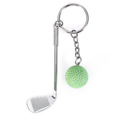 Keychain Golf Clubs Pendant Creative Popular Sports Style