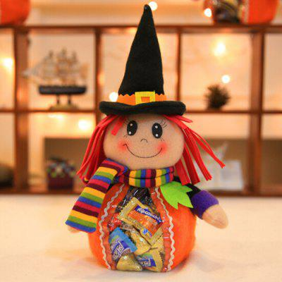 Buy MULTI Halloween Decorative Creative Doll Shape Candy Biscuit Bags for $4.92 in GearBest store