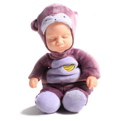 Simulation Reborn Doll Toy in Monkey Style Clothes