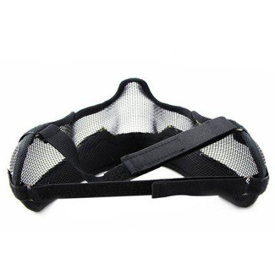 CTSmart MA - 10 Steel Mesh Tactical Half-face MaskOther Sports Gadgets<br>CTSmart MA - 10 Steel Mesh Tactical Half-face Mask<br><br>Brand: CTSmart<br>Package Contents: 1 x Protective Mask<br>Package size (L x W x H): 24.00 x 19.00 x 17.00 cm / 9.45 x 7.48 x 6.69 inches<br>Package weight: 0.7700 kg<br>Product size (L x W x H): 23.00 x 18.00 x 16.00 cm / 9.06 x 7.09 x 6.3 inches<br>Product weight: 0.6700 kg
