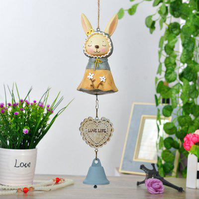 Buy YELLOW 34CM Rabbit Design Campanula Ornament for $11.12 in GearBest store