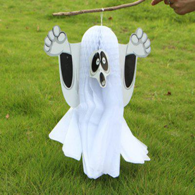 Horrible Decor Paper Ghost Hanging PendantHalloween Supplies<br>Horrible Decor Paper Ghost Hanging Pendant<br><br>Package Contents: 1 x Ghost Pendant<br>Package size (L x W x H): 41.00 x 31.00 x 3.00 cm / 16.14 x 12.2 x 1.18 inches<br>Package weight: 0.0700 kg<br>Product size (L x W x H): 40.00 x 30.00 x 2.00 cm / 15.75 x 11.81 x 0.79 inches<br>Product weight: 0.0600 kg<br>Usage: Halloween, Party, Performance, Stage