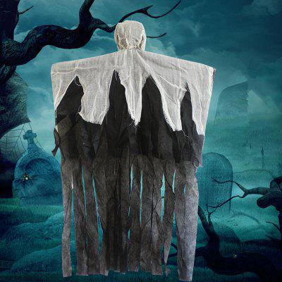 Decoration Hanging Ghost Scene Props PendantHalloween Supplies<br>Decoration Hanging Ghost Scene Props Pendant<br><br>Package Contents: 1 x Ghost Pendant<br>Package size (L x W x H): 96.00 x 64.00 x 11.00 cm / 37.8 x 25.2 x 4.33 inches<br>Package weight: 0.1200 kg<br>Product size (L x W x H): 95.00 x 63.00 x 10.00 cm / 37.4 x 24.8 x 3.94 inches<br>Product weight: 0.1000 kg<br>Usage: Halloween, Party, Performance, Stage