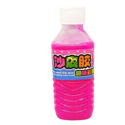Jumbo Squishy DIY Sand Skin Glue Plastic Bottled Toy for Kids