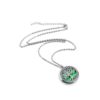 Women Trendy  Aromatherapy NecklaceNecklaces &amp; Pendants<br>Women Trendy  Aromatherapy Necklace<br><br>Package Contents: 1 x Necklace<br>Package weight: 0.0400 kg<br>Product weight: 0.0200 kg<br>Style: Fashion<br>Type: Necklaces