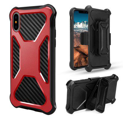 Shock-proof Stand Protective Case for iPhone XiPhone Cases/Covers<br>Shock-proof Stand Protective Case for iPhone X<br><br>Compatible for Apple: iPhone X<br>Features: Anti-knock, Back Cover, Cases with Stand, Dirt-resistant, Shatter-Resistant Case<br>Material: TPU, PC<br>Package Contents: 1 x Case<br>Package size (L x W x H): 15.50 x 8.40 x 2.30 cm / 6.1 x 3.31 x 0.91 inches<br>Package weight: 0.0900 kg<br>Product size (L x W x H): 14.50 x 7.40 x 1.30 cm / 5.71 x 2.91 x 0.51 inches<br>Product weight: 0.0700 kg<br>Style: Modern