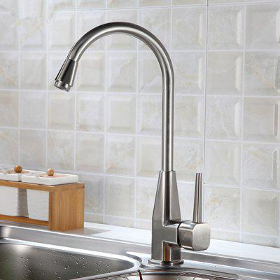 Yuda 9040 Waterfall Design Brassing Kitchen Faucet