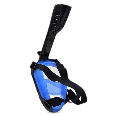 Aileap SNK01 Portable Full Dry Type Diving MaskDiving<br>Aileap SNK01 Portable Full Dry Type Diving Mask<br><br>Brand: Aileap<br>Material: Plastic, PVC, Silicone<br>Package Content: 1 x Diving Mask, 1 x Breathing Tube, 1 x Sport Camera Stand, 1 x Sports Camera Mounting Screw Kit, 1 x Decorative Cover, 1 x English Manual, 1 x Accessory Bag<br>Package size (L x W x H): 23.00 x 18.00 x 12.00 cm / 9.06 x 7.09 x 4.72 inches<br>Package weight: 0.6000 kg<br>Product weight: 0.5450 kg<br>Size: L / XL<br>Type: Full Mask