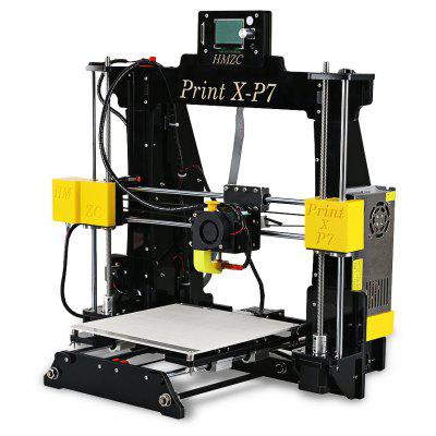 HMZC PRINT X - P7 Desktop DIY 3D Printer Kit