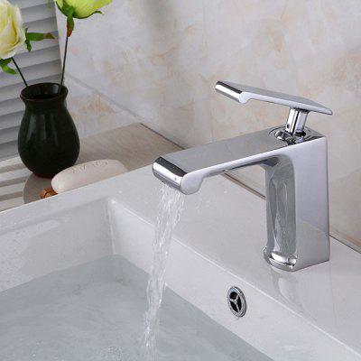 LINGHAO HL - 241 Chrome-plating Bathroom Basin Faucet