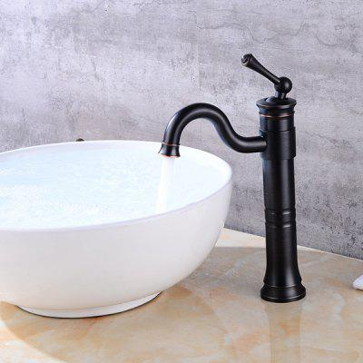 LINGHAO HL - 250 Single Handle Tall Bathroom Sink FaucetFaucets<br>LINGHAO HL - 250 Single Handle Tall Bathroom Sink Faucet<br><br>Battery Included: No<br>Body Sprays Included: No<br>Brand: LINGHAO<br>Cold and Hot Switch: Yes<br>Drain Included: Yes<br>Faucet Body Material: Brass<br>Faucet center: Single Hole<br>Faucet Features: Easy Install,Easy to use<br>Faucet Spout Material: Brass<br>Faucet Type: Bathroom Sink Faucet<br>Handle Material: Zinc Alloy<br>Handshower Included: No<br>Handshower Material: Brass<br>Home Finish: Oil-rubbed Bronze<br>Installation Hole Diameter ( cm ): 3.2 - 3.5cm<br>Installation Holes Handles: Single Handle One Hole<br>Installation Type: Centerset<br>Package Contents: 1 x Pack of Stationary Fittings, 2 x Water Inlet Pipe, 1 x Drainer, 1 x English User Manual<br>Package size (L x W x H): 38.00 x 22.00 x 7.00 cm / 14.96 x 8.66 x 2.76 inches<br>Package weight: 1.6000 kg<br>Product weight: 1.5000 kg<br>Rain Shower Included: No<br>Rain Shower Material: Brass<br>Shower Arm Included: No<br>Style: Retro<br>Valve Included: Yes<br>Valve Type: Ceramic Valve<br>Water Pressure: 12