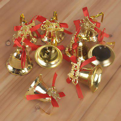 Golden Bells for Christmas Tree Decoration 9PCSChristmas Supplies<br>Golden Bells for Christmas Tree Decoration 9PCS<br><br>For: Friends, Kids, Sisters<br>Material: Plastic<br>Package Contents: 9 x Golden Bell<br>Package size (L x W x H): 31.00 x 31.00 x 15.00 cm / 12.2 x 12.2 x 5.91 inches<br>Package weight: 0.4000 kg<br>Product weight: 0.3000 kg<br>Usage: Birthday, Party, Christmas