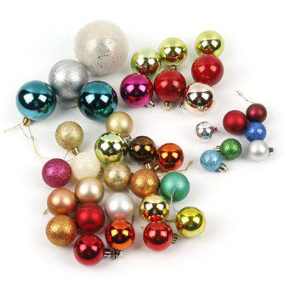 Christmas Ball Festival Decoration Gift SetChristmas Supplies<br>Christmas Ball Festival Decoration Gift Set<br><br>For: Friends, Kids, Sisters<br>Material: Plastic<br>Package Contents: 1 x Set of Christmas Decoration Ball<br>Package size (L x W x H): 25.00 x 13.00 x 13.00 cm / 9.84 x 5.12 x 5.12 inches<br>Package weight: 0.2200 kg<br>Product weight: 0.2000 kg<br>Usage: Birthday, Party, Christmas
