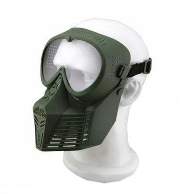 CTSmart MA - 64 Tactical Military Full-face Mask with GogglesOther Sports Gadgets<br>CTSmart MA - 64 Tactical Military Full-face Mask with Goggles<br><br>Brand: CTSmart<br>Package Contents: 1 x Mask<br>Package size (L x W x H): 18.50 x 11.00 x 21.00 cm / 7.28 x 4.33 x 8.27 inches<br>Package weight: 0.4500 kg<br>Product size (L x W x H): 17.50 x 10.00 x 20.00 cm / 6.89 x 3.94 x 7.87 inches<br>Product weight: 0.1500 kg