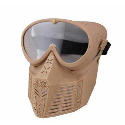 CTSmart MA - 64 Tactical Military Full-face Mask with Goggles