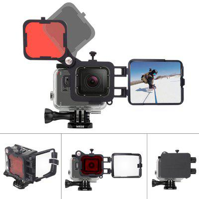 Fantaseal 3 in 1 Camera Reflector Kit for GoPro HERO5
