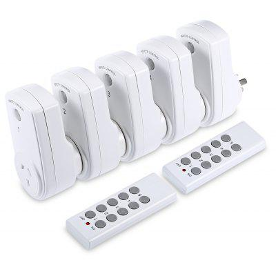 Remote Control Socket Two Drag 5 Switch