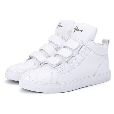 Female Trendy British Motifs Ankle Top Soft Casual Sneakers