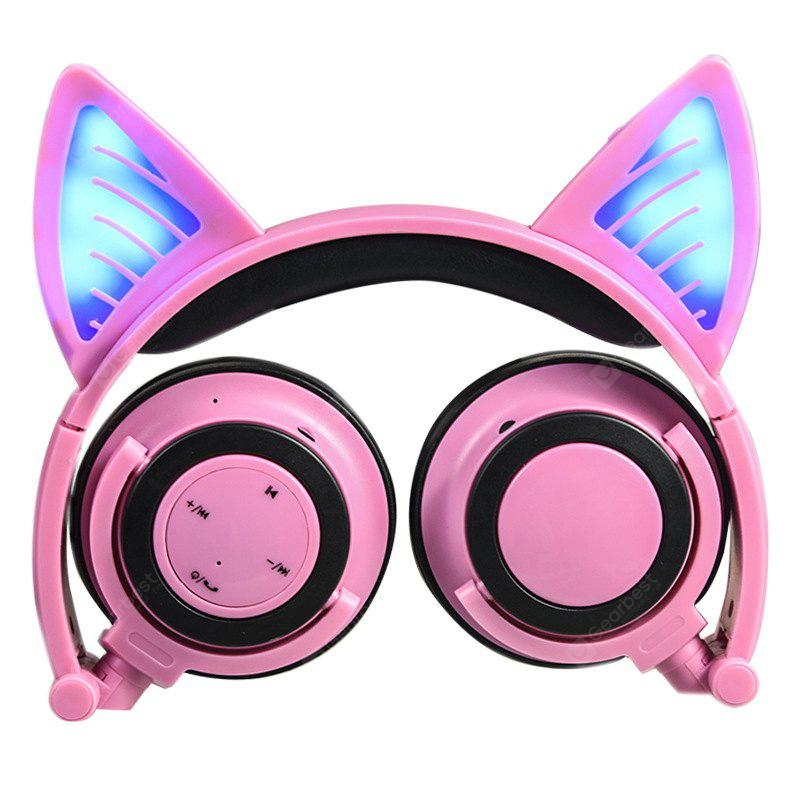 LX - Y05 Cat Ear Headphone with LED Light