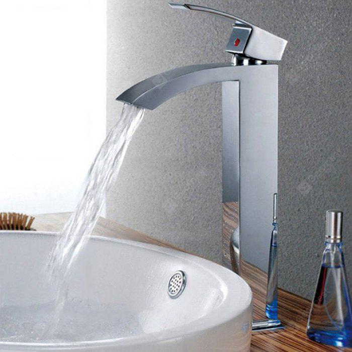 Yuda Single Handle Sickle Shape Bathroom Faucet