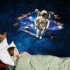 LAIMA 3D Space Astronauti Adesivo Wall Sticker - COLORATO