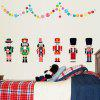 LAIMA Cartoon Robots Pattern Home Decor Sticker - COLORFUL
