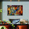 HuaTuo Town View Hand Painted Oil Painting - COLORMIX